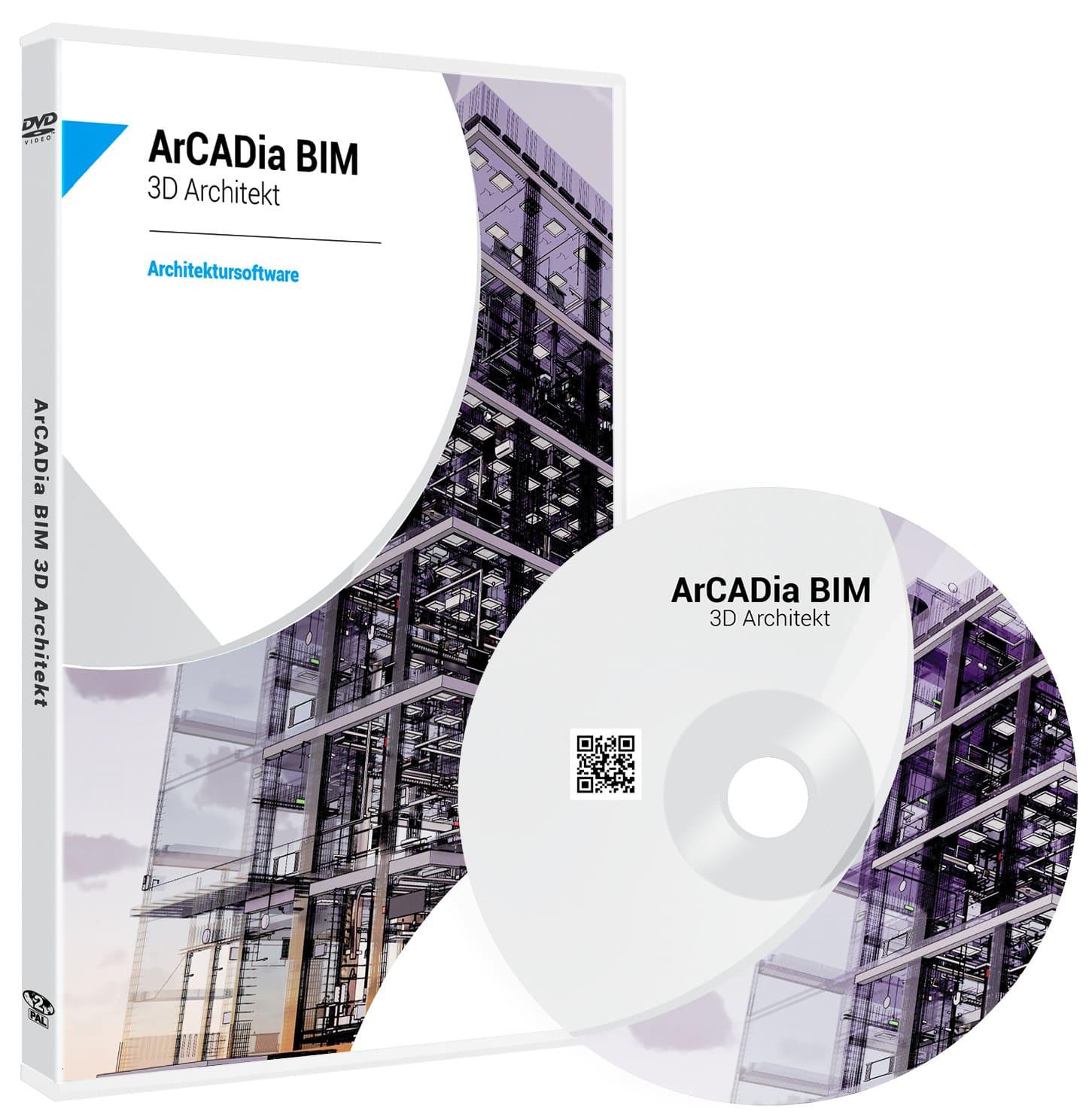 ArCADia BIM 3D Architekt Architektursoftware
