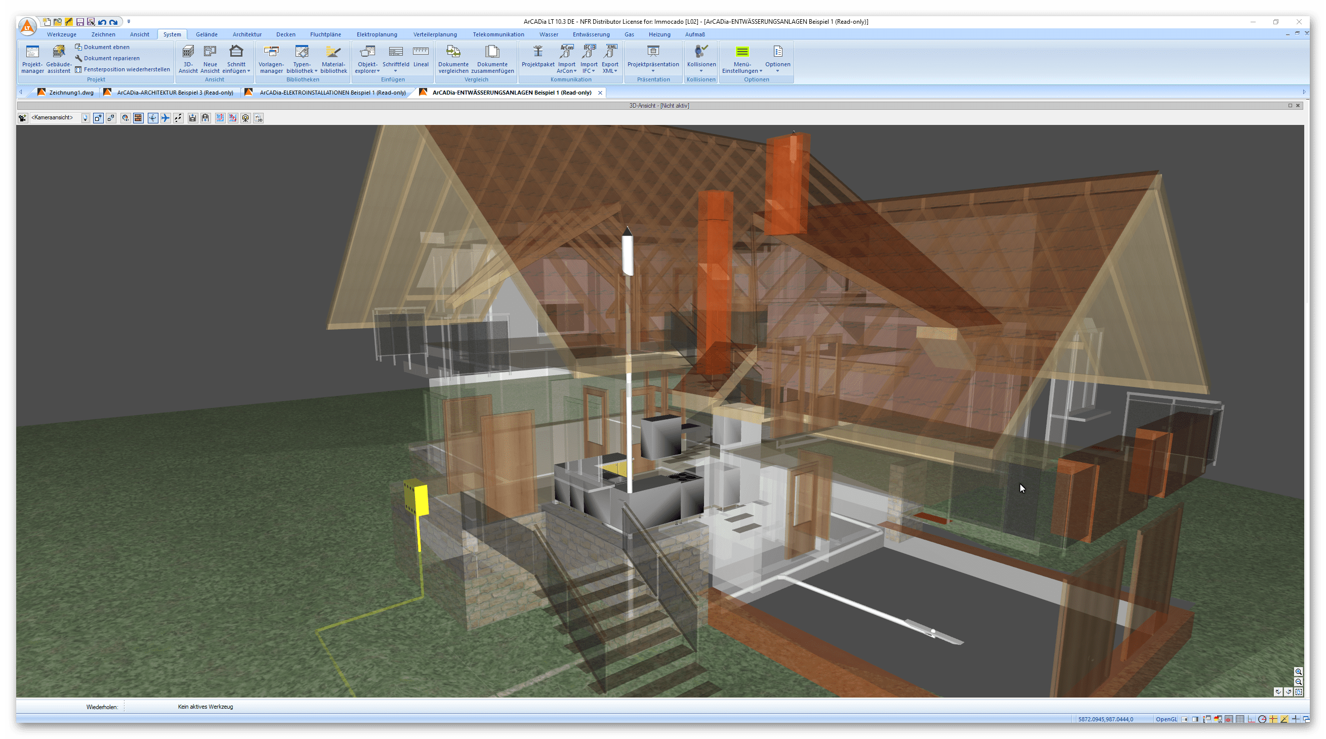 BIM Software Architektur