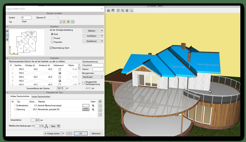 Dach planen