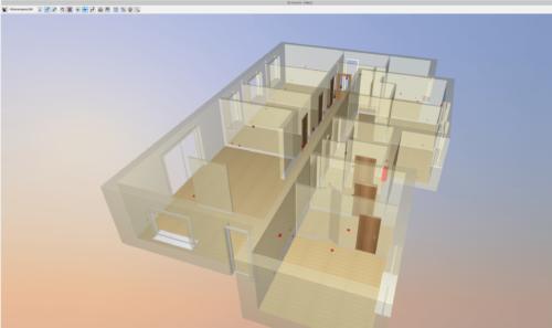 Elektroinstallation mit dem ArCADia BIM 3D Architekt 2