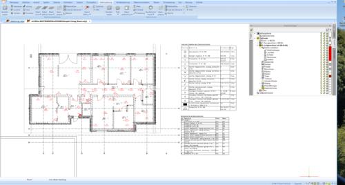 Elektroinstallation mit dem ArCADia BIM 3D Architekt 4